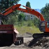 Excavator & Screening Plant