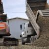 Excavator & Truck